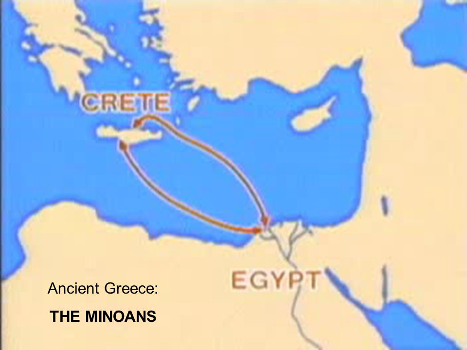 Ancient Greece: THE MINOANS