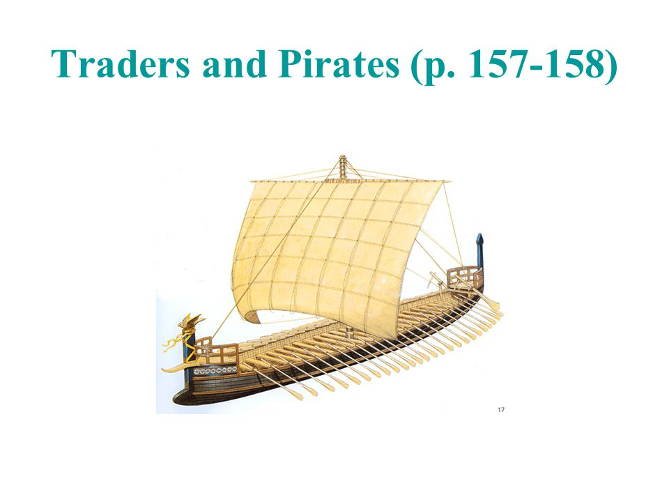 Traders and Pirates (p. 157-158)