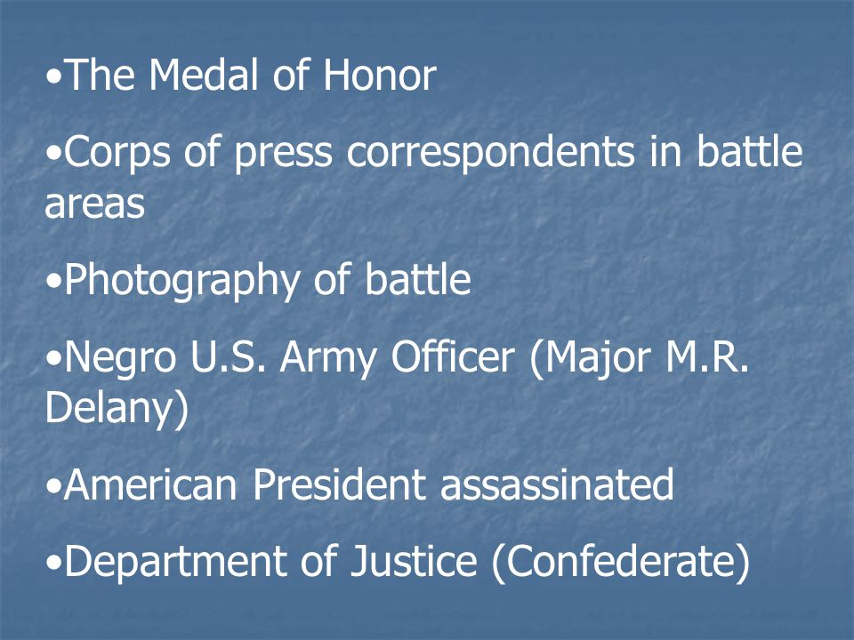 The Medal of Honor Corps of press correspondents in battle areas Photography of battle Negro U.S.