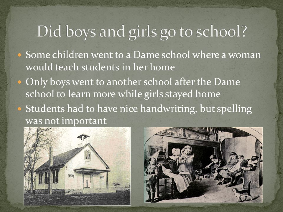 Boys wore stockings and caps They dressed like their fathers at the age of six and wore wigs Babies wore clothes called puddings Boys wore the same dr