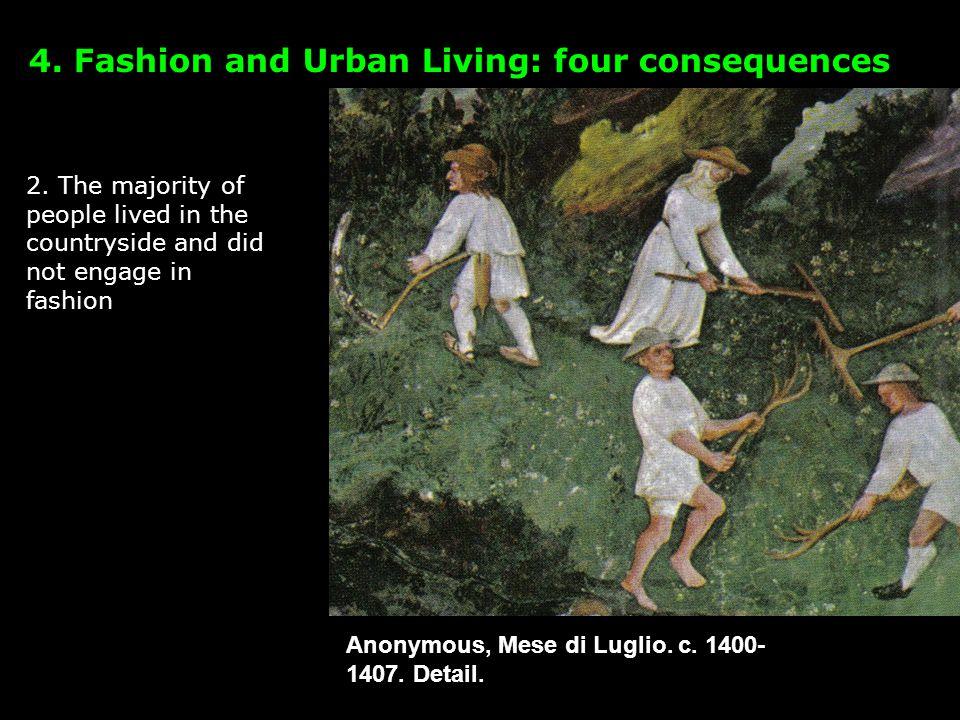 Anonymous, Mese di Luglio. c. 1400- 1407. Detail.