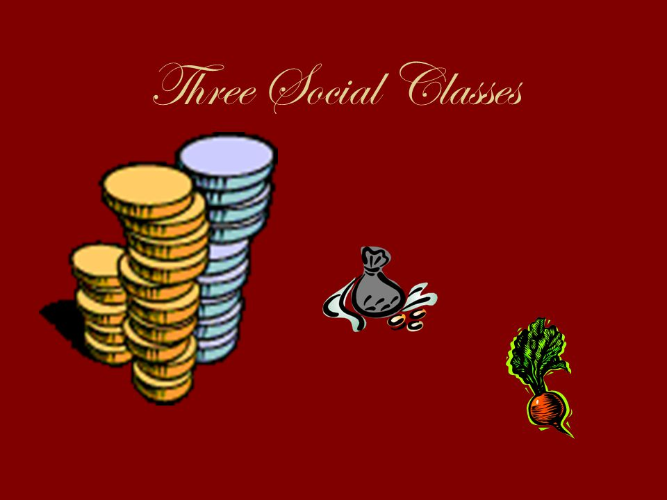 Three Social Classes