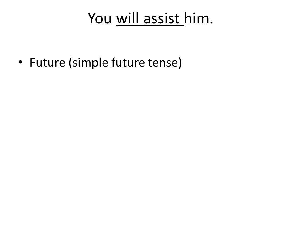 Future (simple future tense)