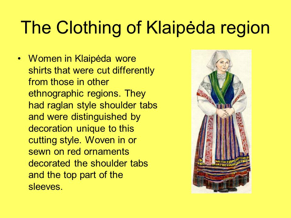 Clothing of Aukštaitija Men in Aukštaitija wore grey, brown or brownish undyed matted woolen caftans.