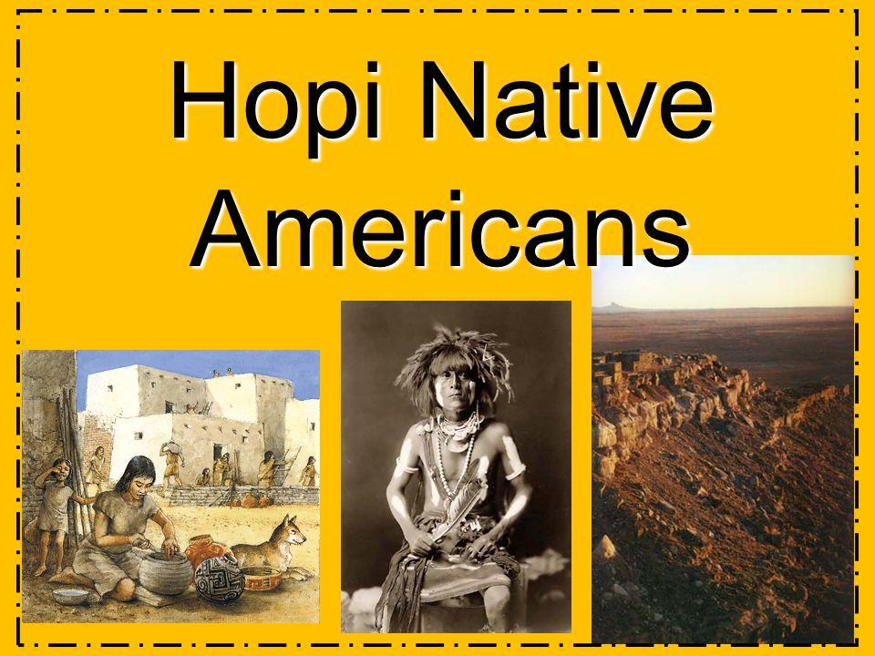 Hopi Native Americans