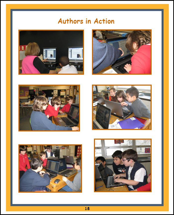 Authors in Action 18