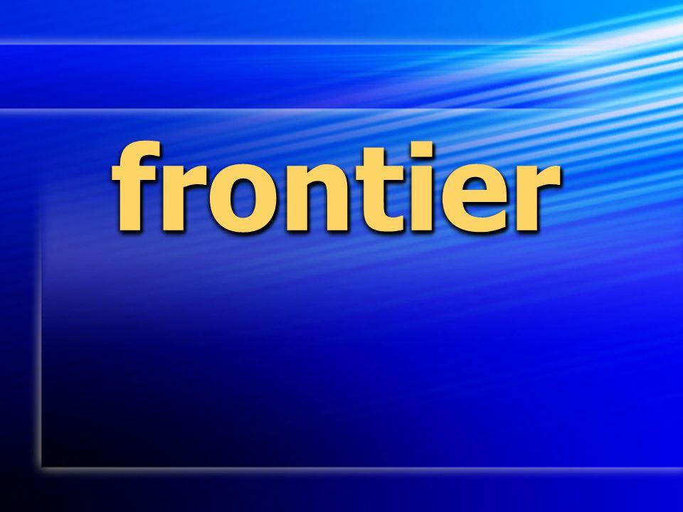 frontierfrontier