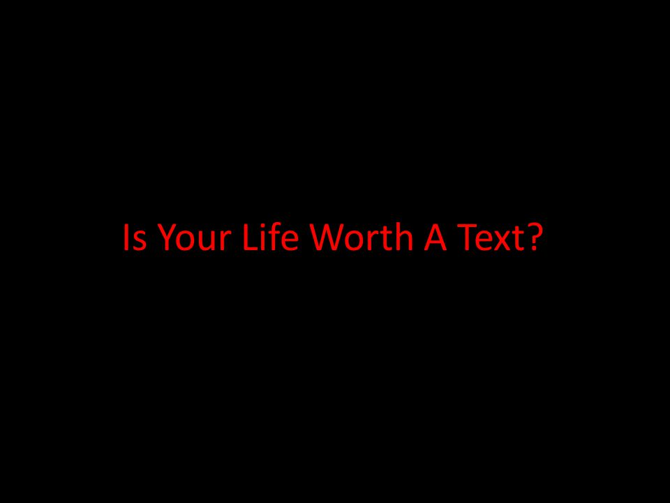 Is Your Life Worth That Extra MPH