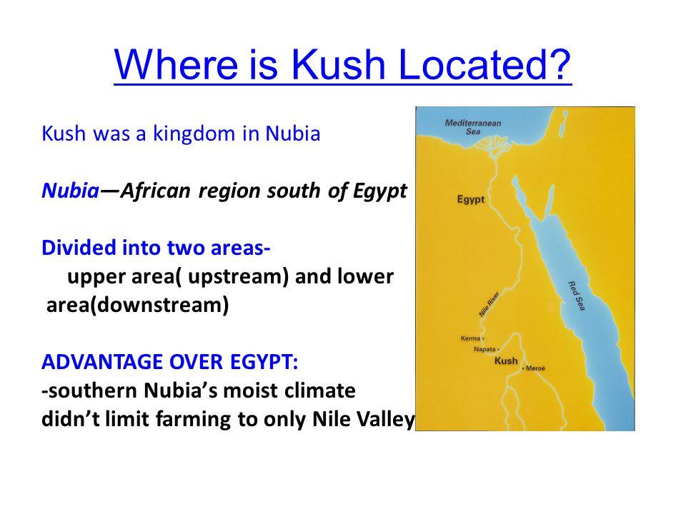 Where is Kush Located.