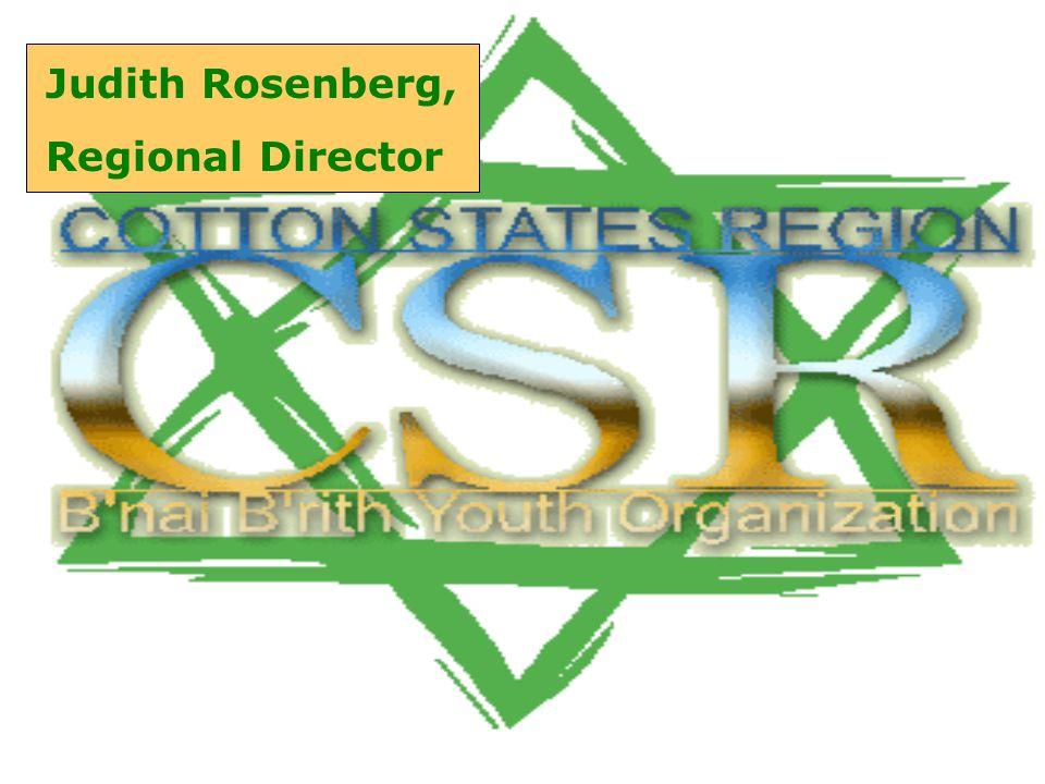 Judith Rosenberg, Regional Director