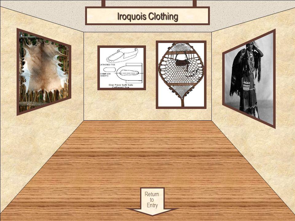 Clothing Return to Entry Iroquois Clothing