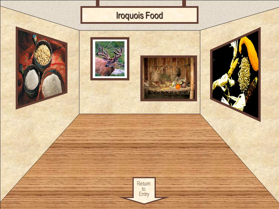 Food Return to Entry Iroquois Food