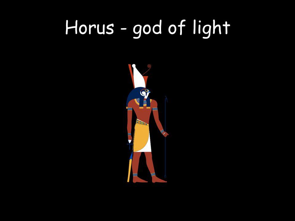 Horus - god of light