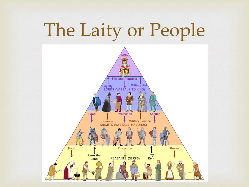  The Laity or People