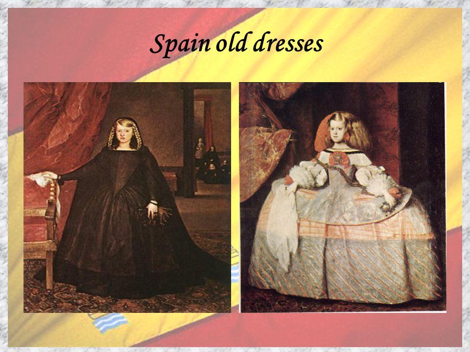 Spain old dresses