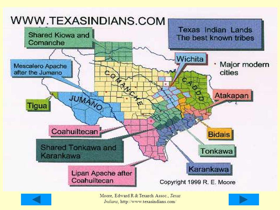 Moore, Edward R & Texarch Assoc., Texas Indians, http://www.texasindians.com/