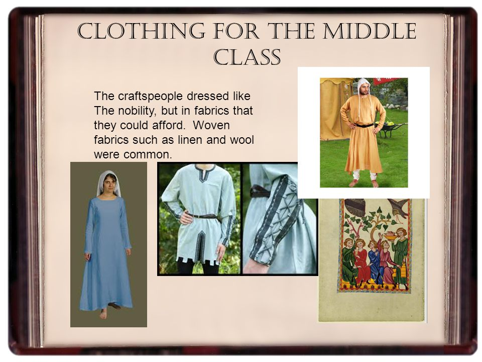 Other Roles The middle class began to emerge in medieval times Millers ground the grain that the farmer s provided them.