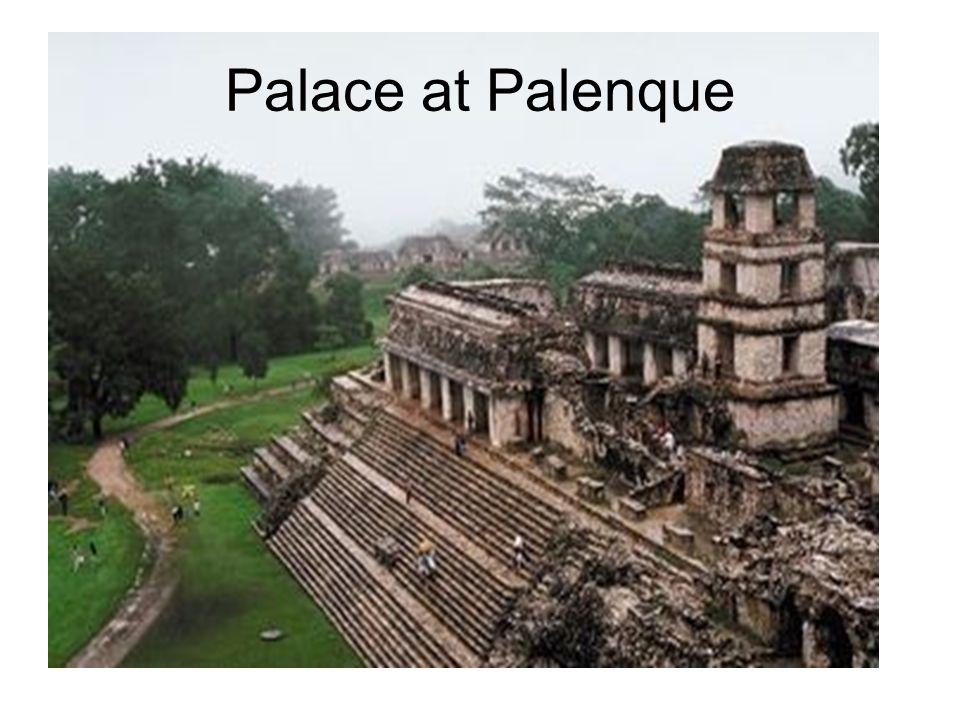 Palace at Palenque