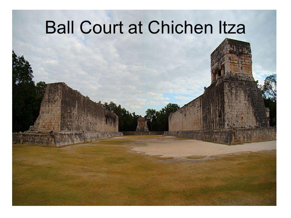 Ball Court at Chichen Itza