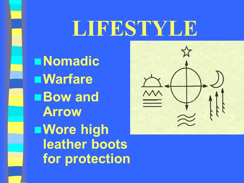 LIFESTYLE Nomadic Warfare Bow and Arrow Wore high leather boots for protection