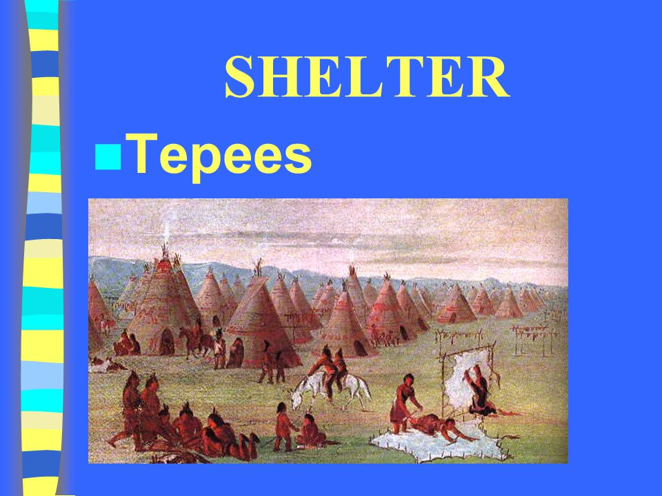 SHELTER Tepees