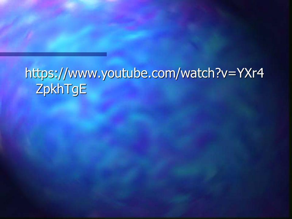 https://www.youtube.com/watch?v=YXr4 ZpkhTgE