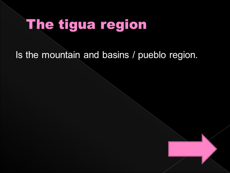 Is the mountain and basins / pueblo region.