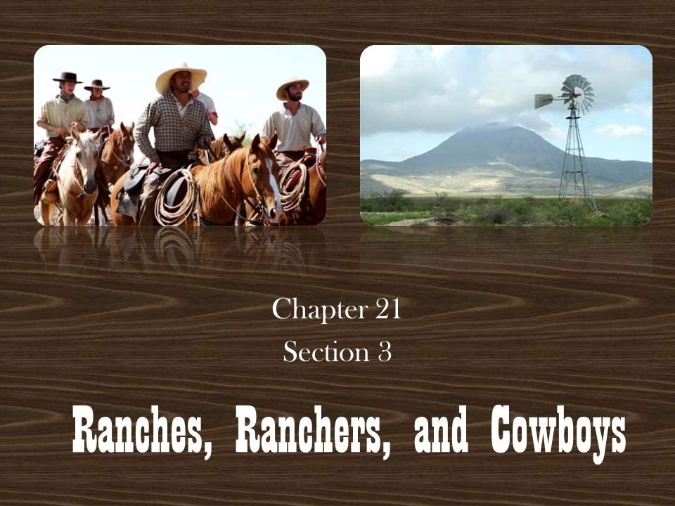 The Closing of the Open Range Chapter 21 Section 4