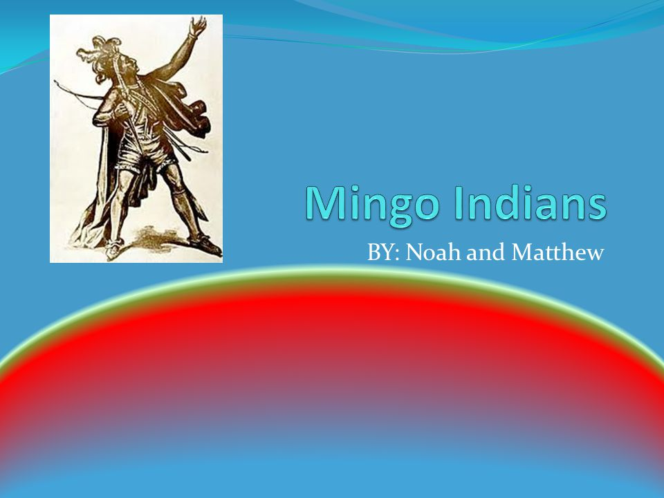 Art The Mingo Indians are known for their false face mask.