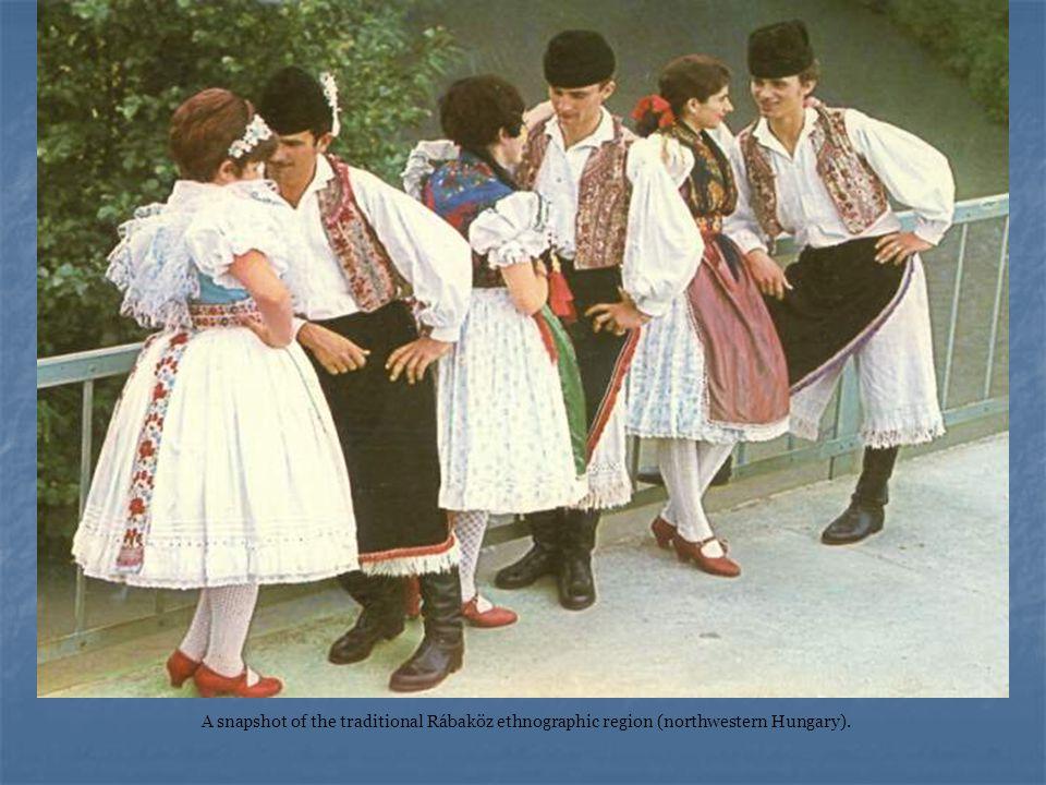A snapshot of the traditional Rábaköz ethnographic region (northwestern Hungary).
