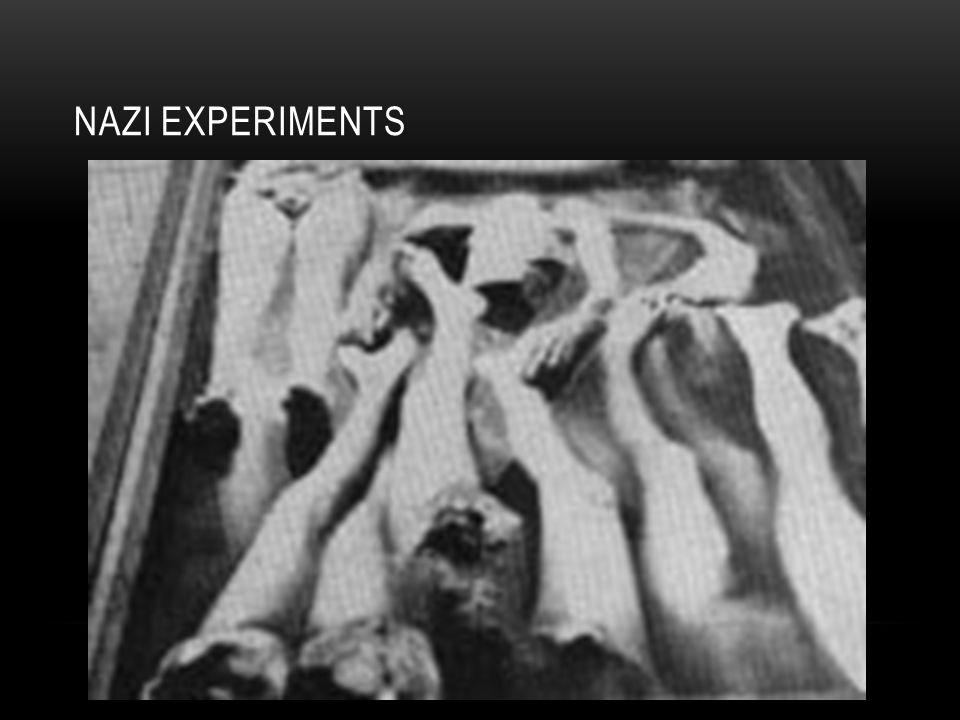NAZI EXPERIMENTS