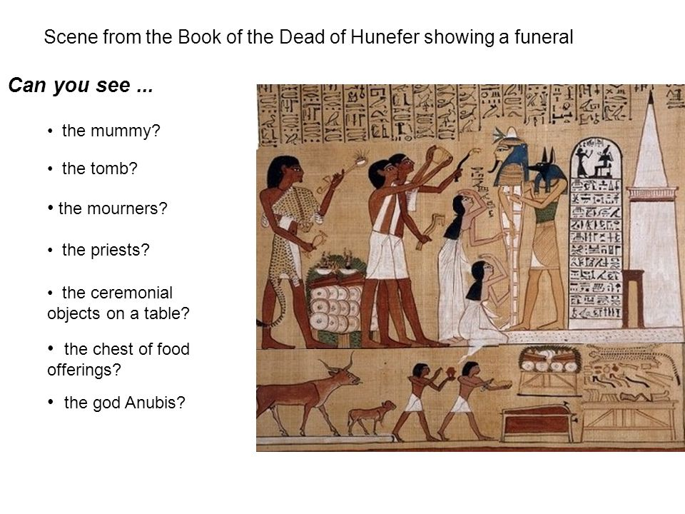 A scene showing the afterlife from the Book of the Dead of Nakht This papyrus shows us some of the activities that the ancient Egyptians believed a person had to do in the afterlife.