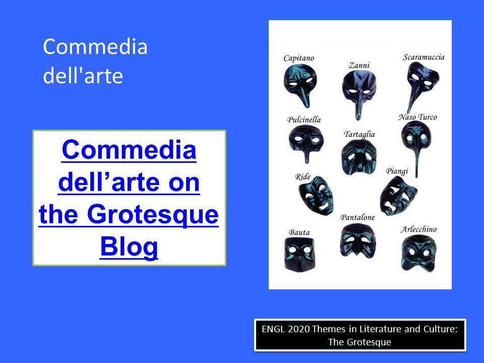 Commedia dell arte Commedia dell'arte on the Grotesque Blog