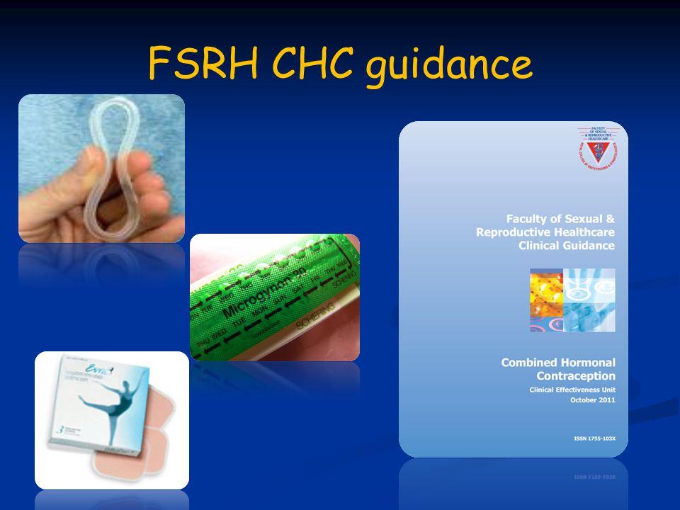 FSRH CHC guidance