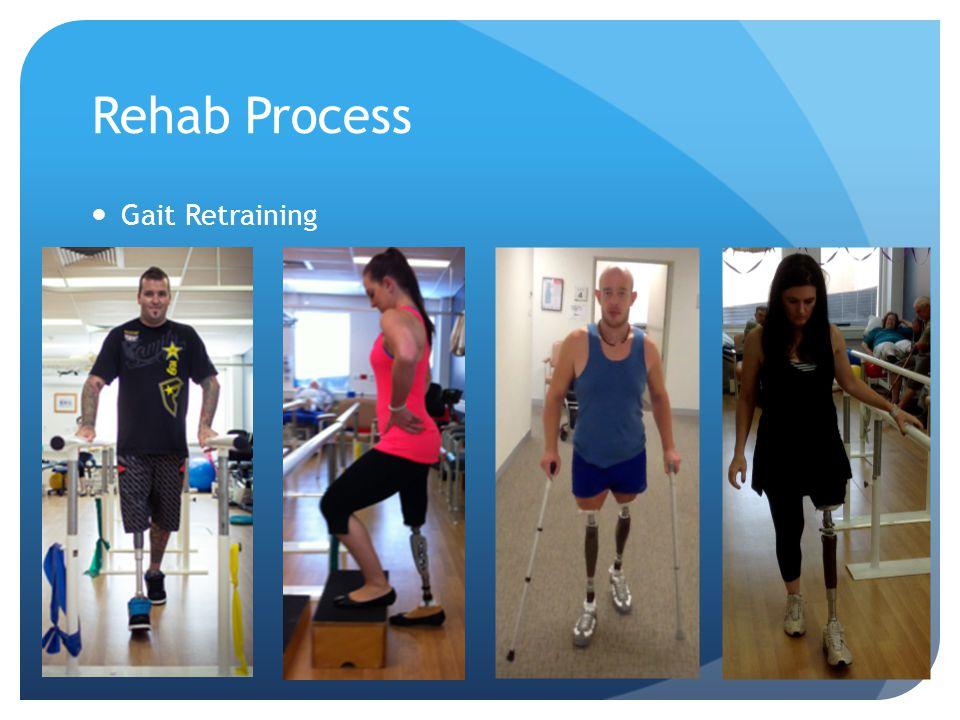 Rehab Process Gait Retraining