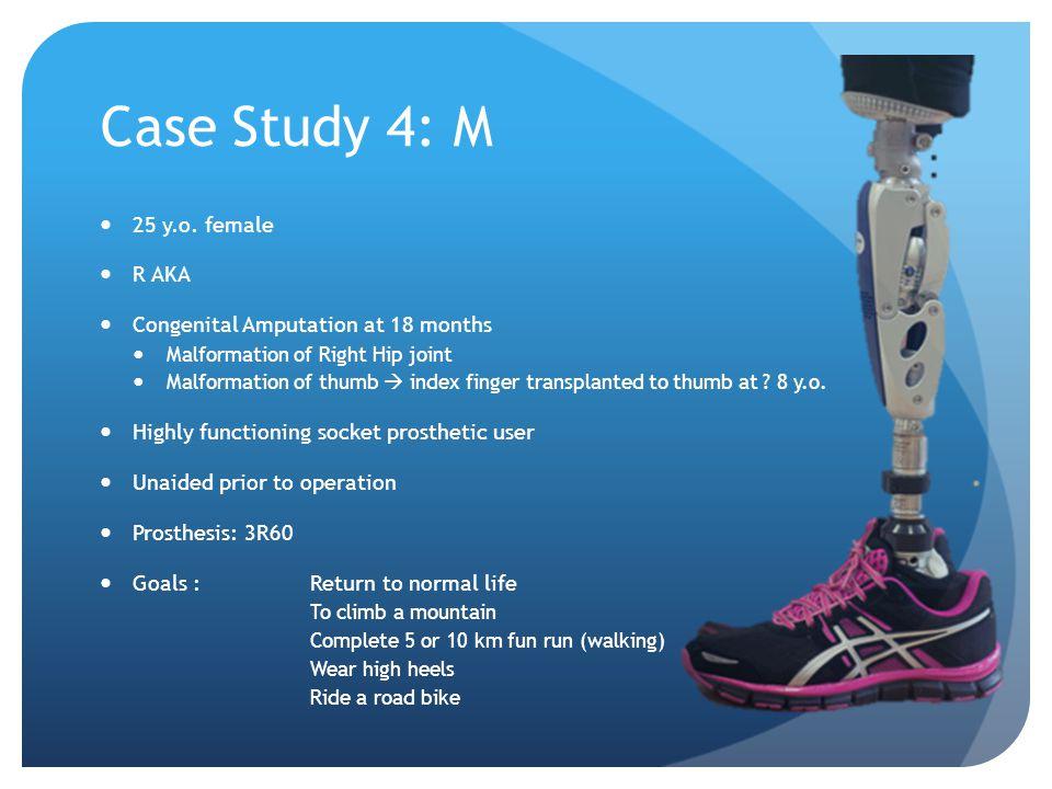 Case Study 4: M 25 y.o.