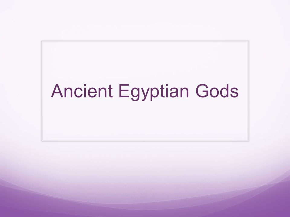 In ancient Egyptian times, gods were extremely important in making the country run properly so the Egyptians worshipped gods for just about everything- flooding, health, love, having babies, the sun, the sky and so on.