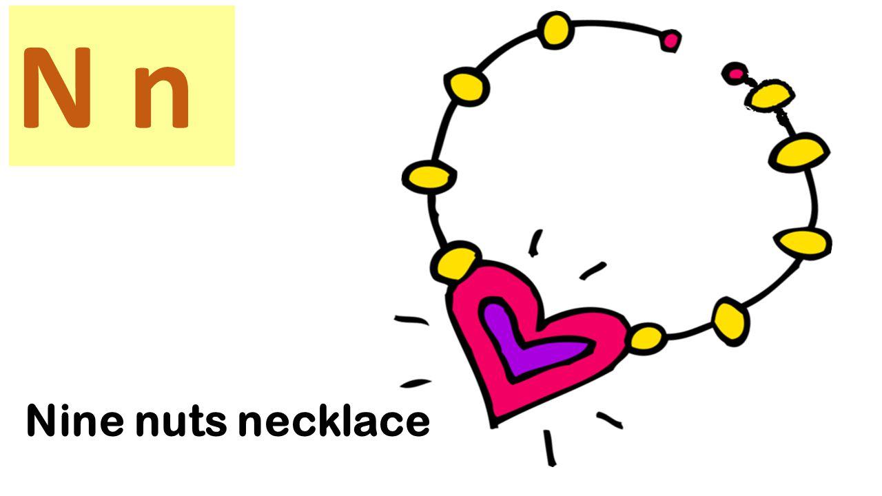 N n Nightingale wears the necklace