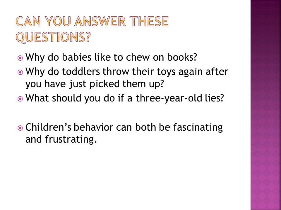  Why do babies like to chew on books.