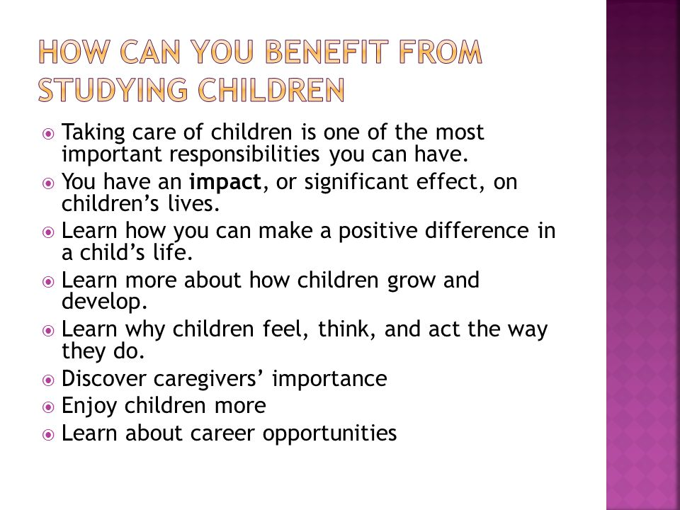  A way of acting or responding that is common at each stage of childhood.