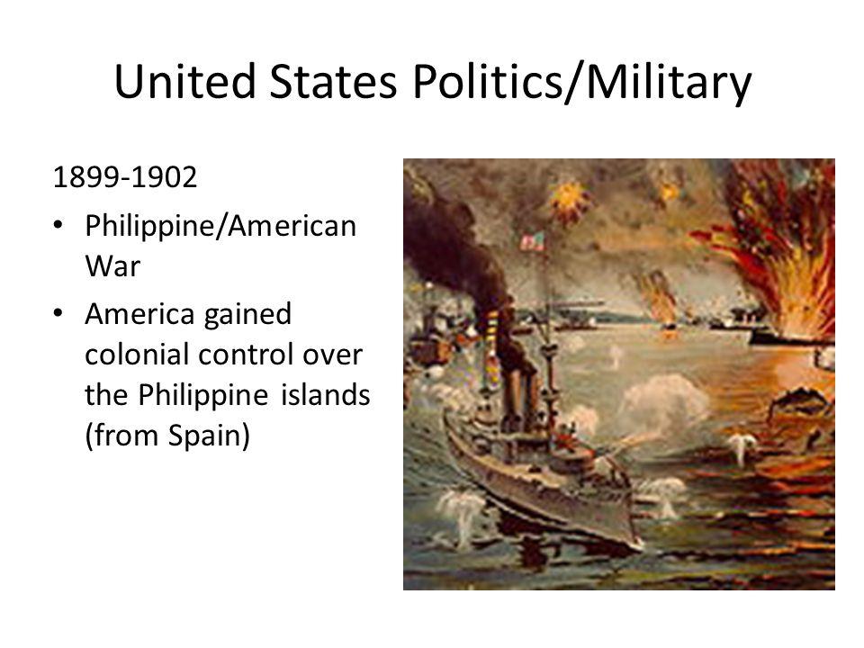 United States Politics/Military 1903 Platt Amendment: end of U.S.