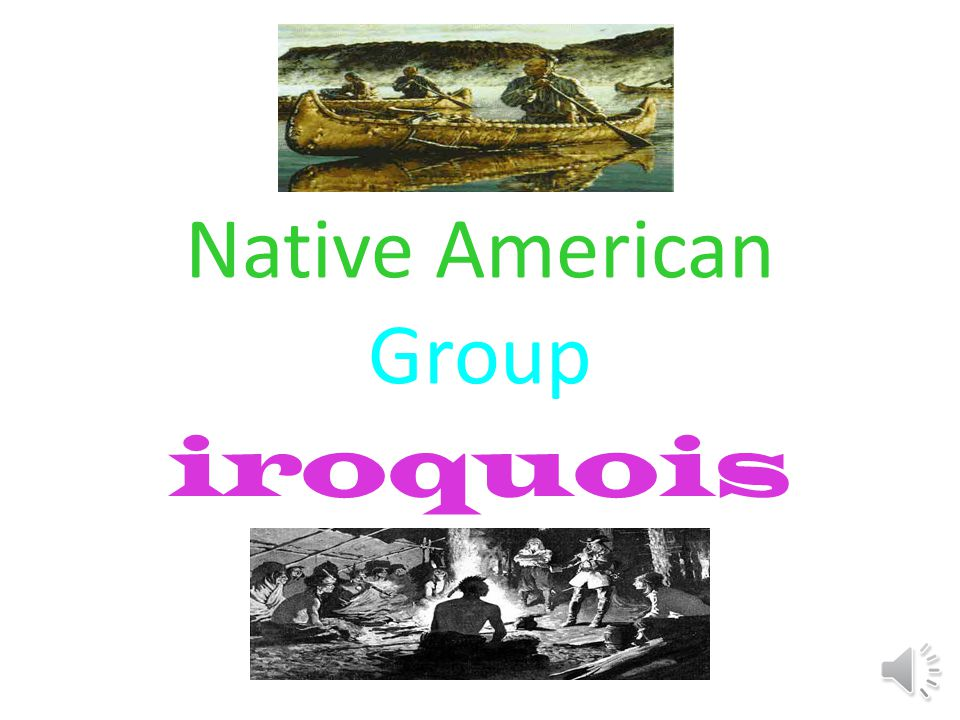 Native American Group iroquois