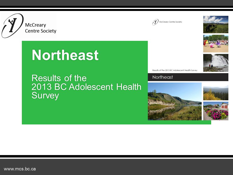 www.mcs.bc.ca Established Protective Factors  Peer relationships  Good nutrition  Feeling engaged and valued  Stable home