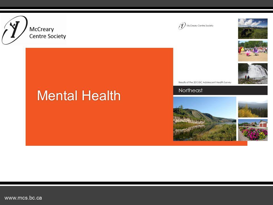 www.mcs.bc.ca Mental HealthMental Health