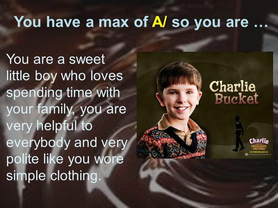 You have a max of A/ so you are … You are a sweet little boy who loves spending time with your family, you are very helpful to everybody and very polite like you wore simple clothing.