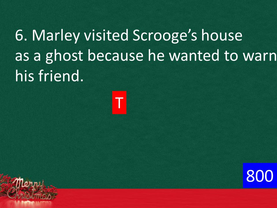 2. Scrooge learns how to _________ Christmas. a.ignore b. work at c. celebrate