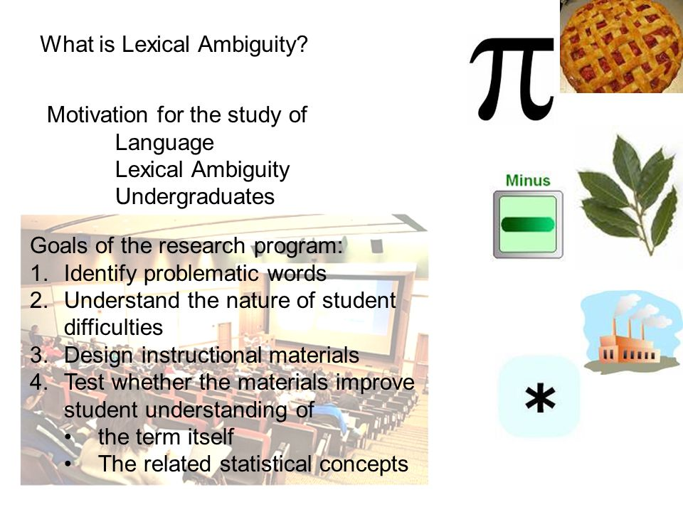 What is Lexical Ambiguity.