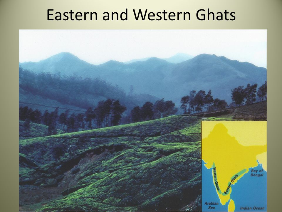 Eastern and Western Ghats