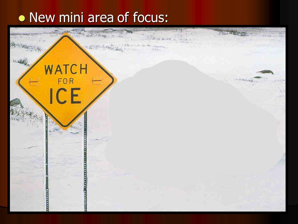 New mini area of focus: New mini area of focus: