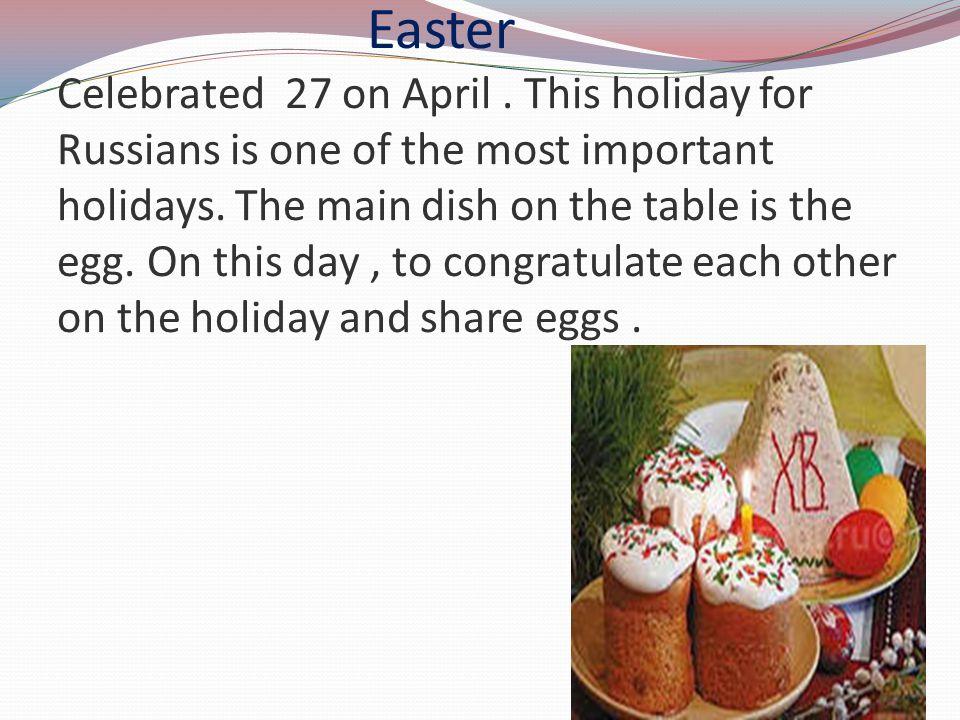 Radonitsa Celebrated 6 on May.